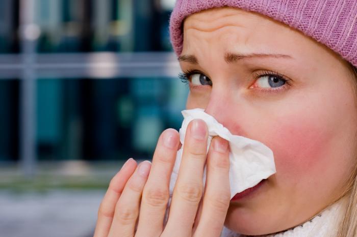 Rhume ; Infection du nez et de la gorge ; allergie