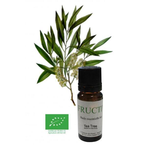 Huile essentielle bio fructivia : tea tree