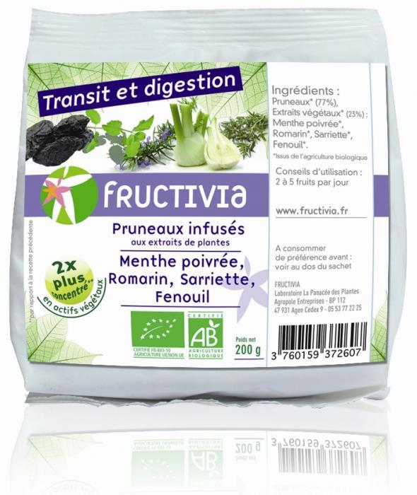 Fruits santé pruneaux transit et digestion bio Fructivia