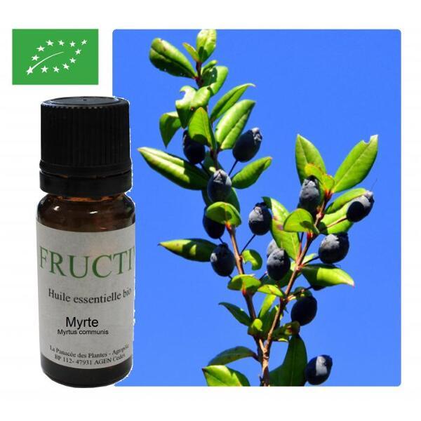 Myrte bio - huile essentielle bio -10 ml