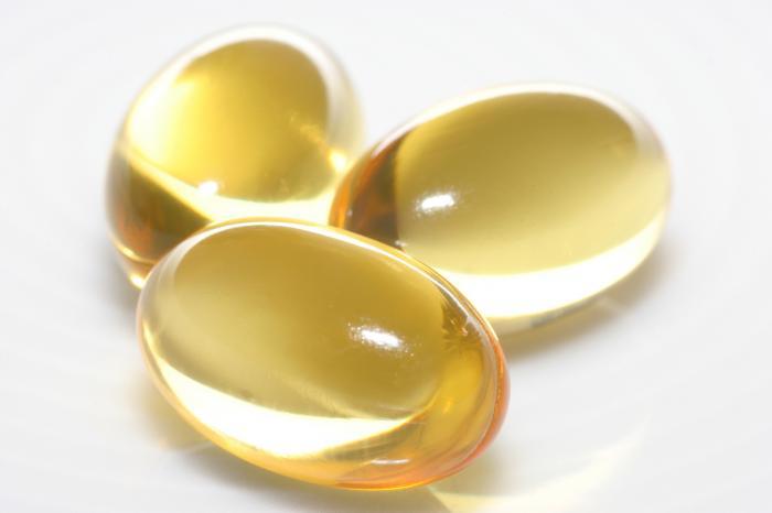 capsules d'huile bio oméga 3