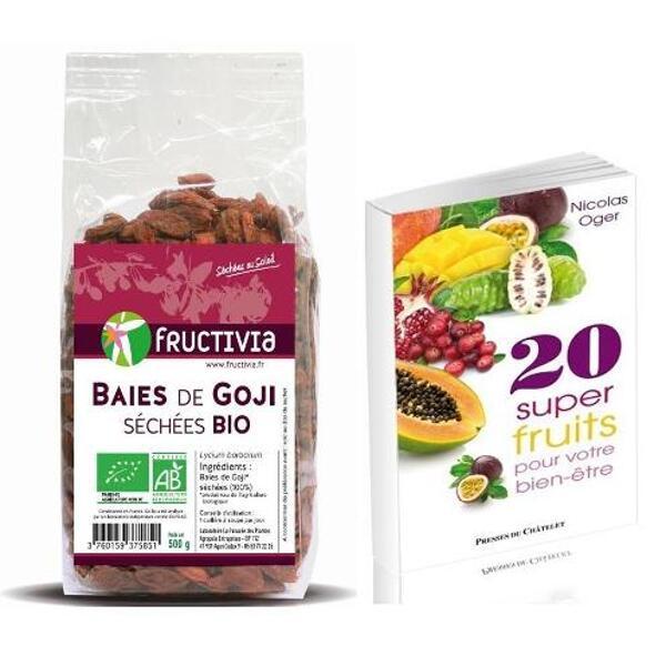 Offre 3 kg goji bio et livre des superfruits offerts