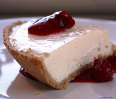 Tarte au fromage blanc et aux baies de goji séchées - recette esprit santé