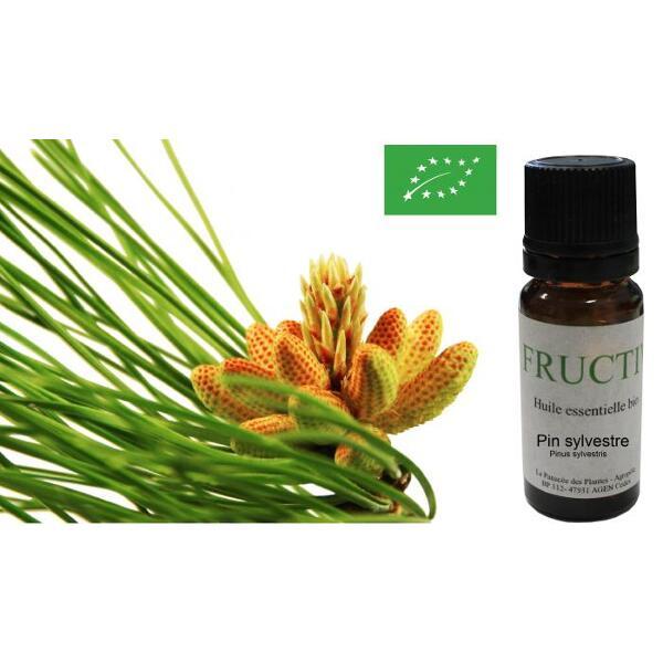 Huile essentielle bio fructivia : pin sylvestre