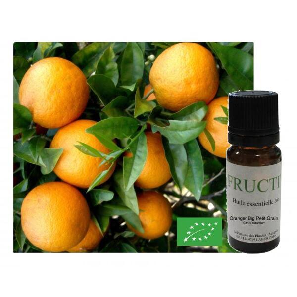 Huile essentielle Bio fructivia : Oranger petit grain bigarade