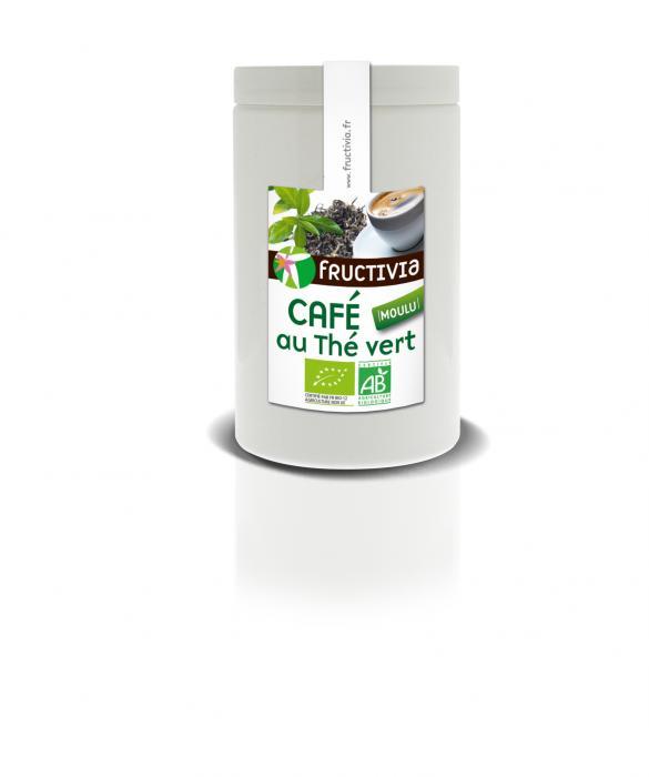Café moulu bio au thé vert - fructivia