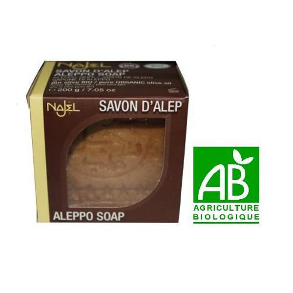 Savon d'alep bio najel najjar - pur huile d'olive bio - 200 g