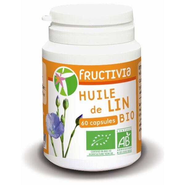 60 capsules huile de lin bio