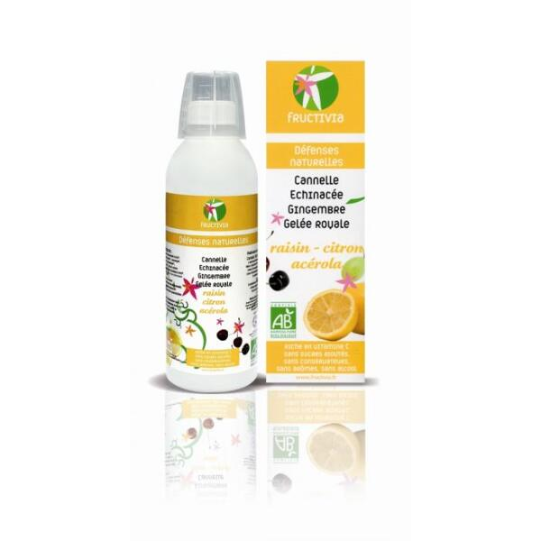 CURE DEFENSES NATURELLES BIO FRUCTIVIA