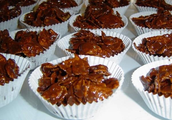 Recette roses des sables au chocolat