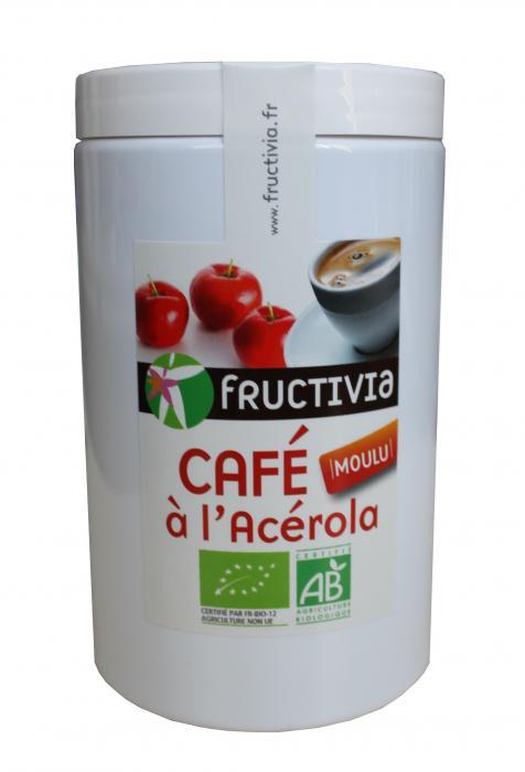 Café moulu bio à l'acérola - fructivia
