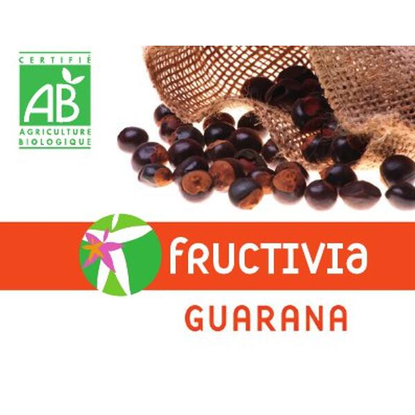 Guarana Bio Fructivia - 120 gélules