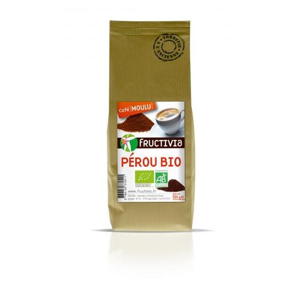 Café moulu Pérou Bio (250g) - Fructivia