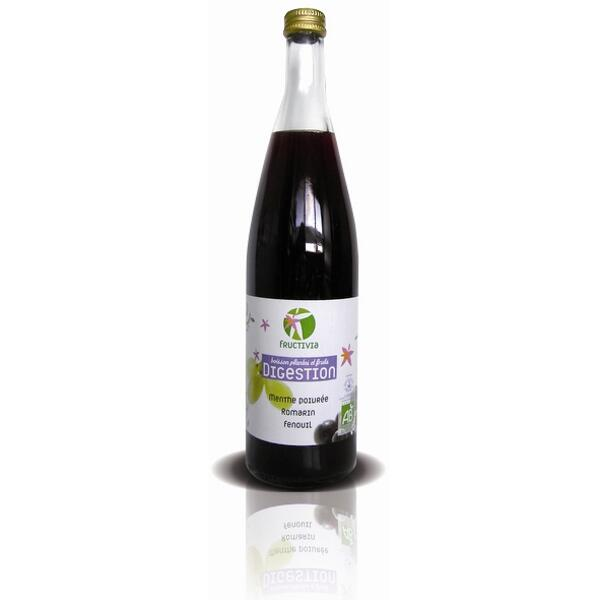 Cocktail plantes et fruits bio - digestion (75cl)
