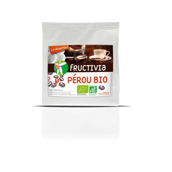 Café Pérou Bio (16 dosettes) - Fructivia