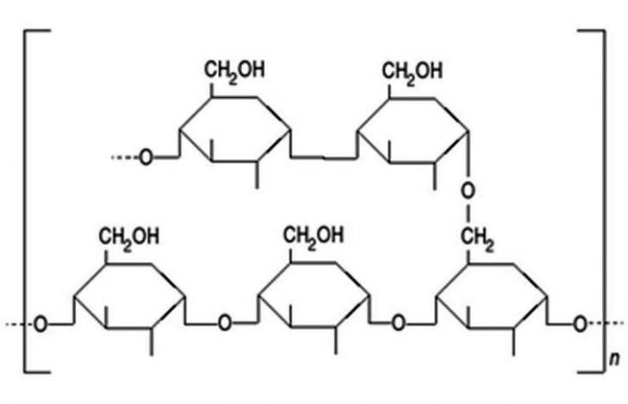 molécule d'amidon