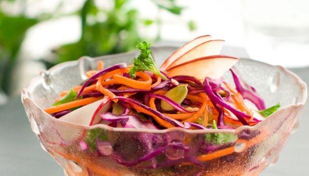 salade chou rouge bio carotte