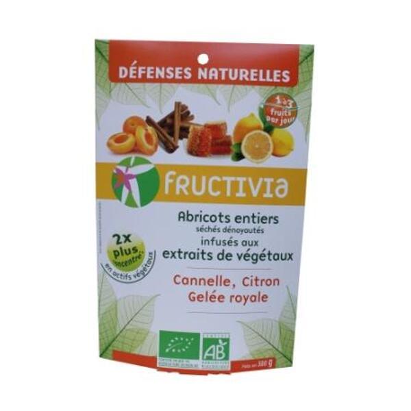 Abricots Défenses naturelles bio Fructivia  (gelée royale, citron, cannelle)