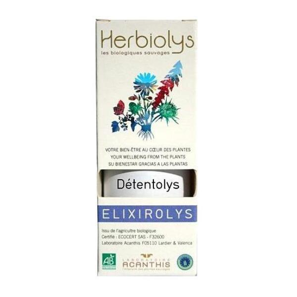 Elixir Détentolys stress bio - herbiolys Laboratoire Arcanthis