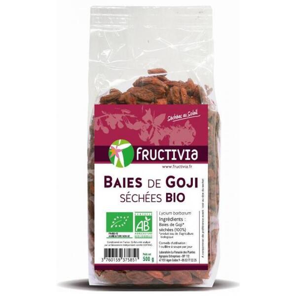 Baies de Goji séchées Bio* 500 G