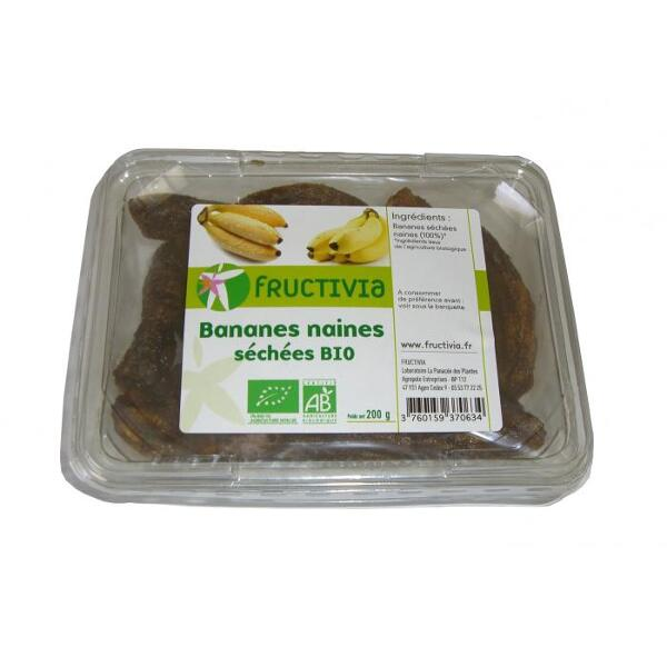 Bananes sechees bio naines