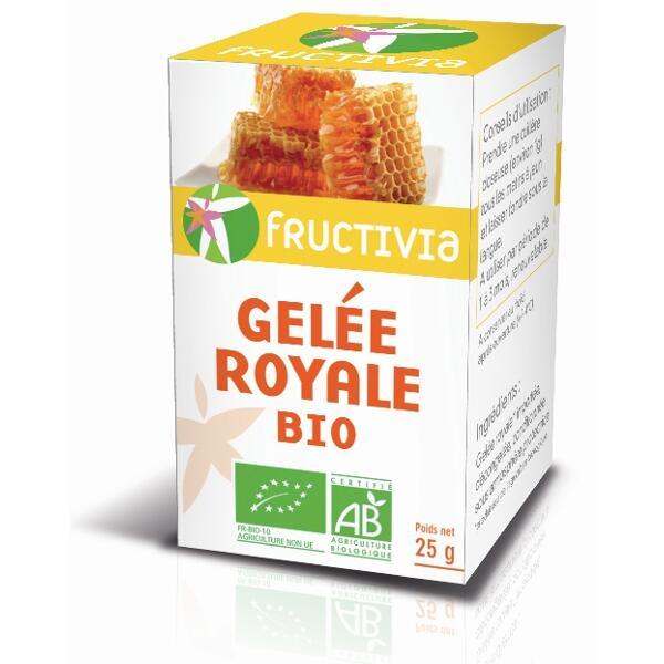 Gelee royale bio - lot de deux pots de 25 g
