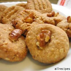 Petits gâteaux auc flocons d'avoine et noix de coco
