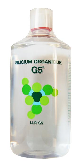 Silicium organique g5 - bouteille 1 litre
