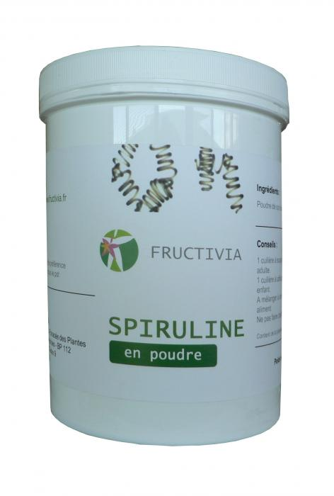 Spiruline - poudre 800 g FRUCTIVIA