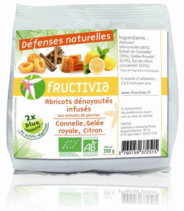 Fruit santé abricots défenses naturelles bio fructivia
