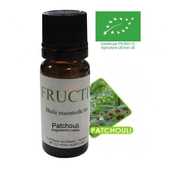 Patchouli bio - huile essentielle bio - 10 ml
