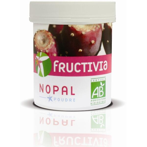 poudre de nopal bio 100 g fructivia