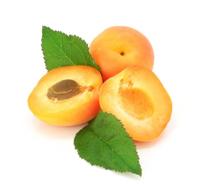 huile végétale bio de noyau d'abricot