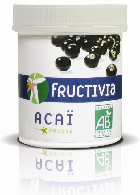 poudre açaï bio 500 g FRUCTIVIA