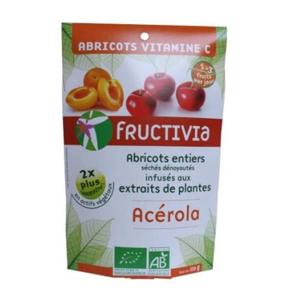 Abricots vitamine c* bio (300 g) - fructivia
