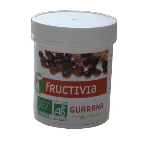 guarana poudre bio fructivia 100 g