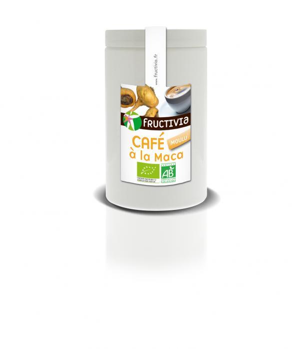 Café moulu bio à la maca - Fructivia