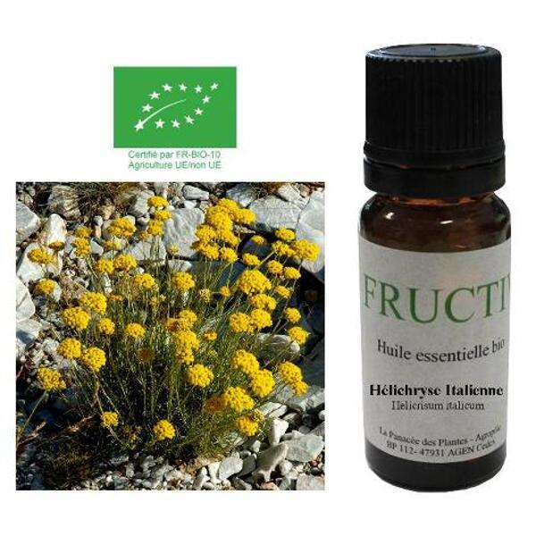 huile essentielle d'hélichryse italienne bio fructivia