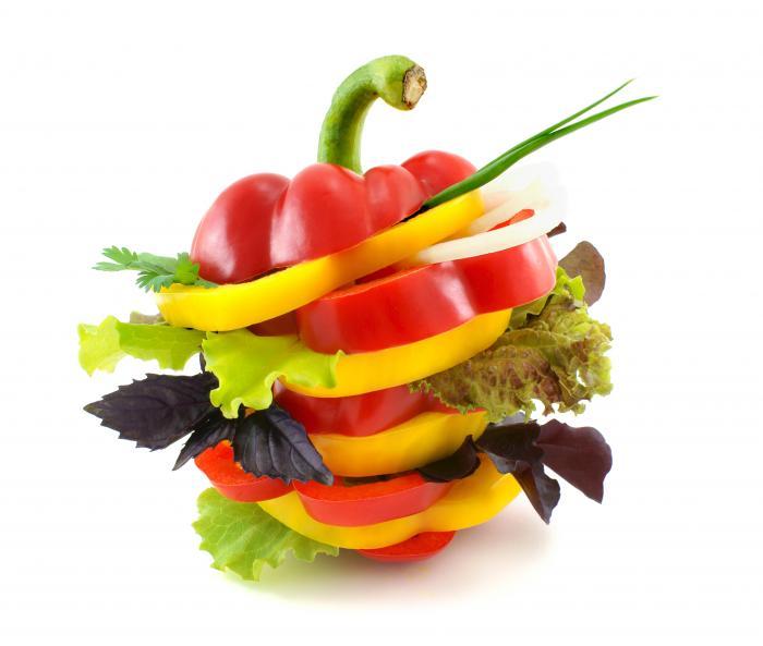 Hamburger de légumes frais - menu anti-cholestérol