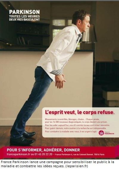 campagne france parkinson - affiches 2012