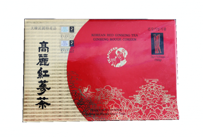 thé ginseng rouge