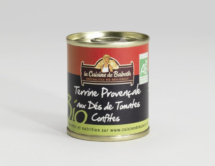 Terrine Provençale aus dés de tomates confites