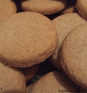 Sablés apéritifs au sarrasin - recette de sablés salés