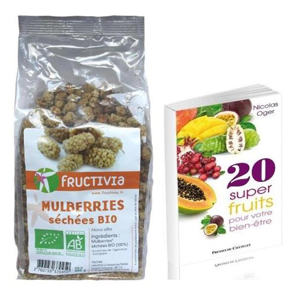 Offre superfruits bio - 3 kg mures blanches + 1 livre