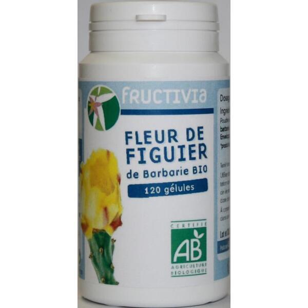 120 GELULES FLEUR DE FIGUIER DE BARBARIE BIO
