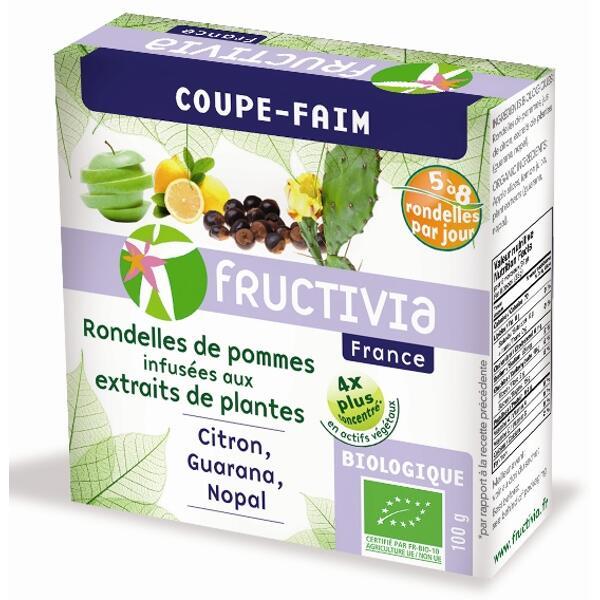 Pommes* coupe-faim bio (100 g) - fructivia