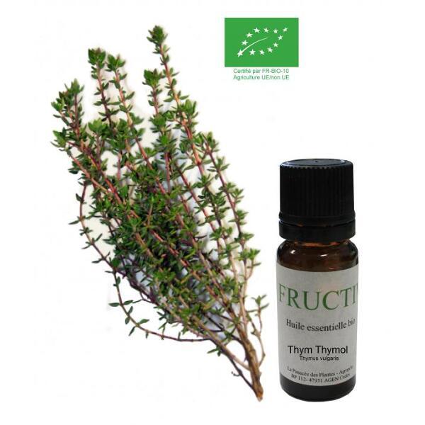 Thym a thymol bio - huile essentielle bio - 10 ml