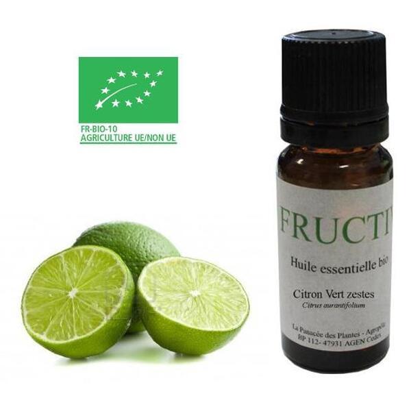 huile essentielle de citron vert bio