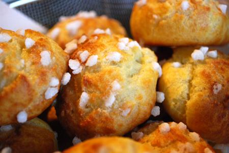 Chouquettes sans gluten et sans lactose