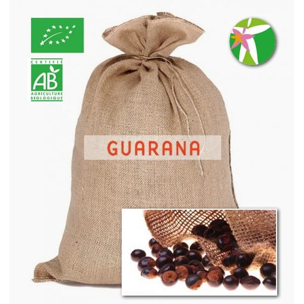 Guarana (paullinia cupana) graines bio* sac 20kg